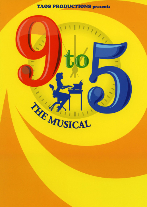 YAOS 2017 Production of '9 to 5 The Musical' - Programme Front Cover