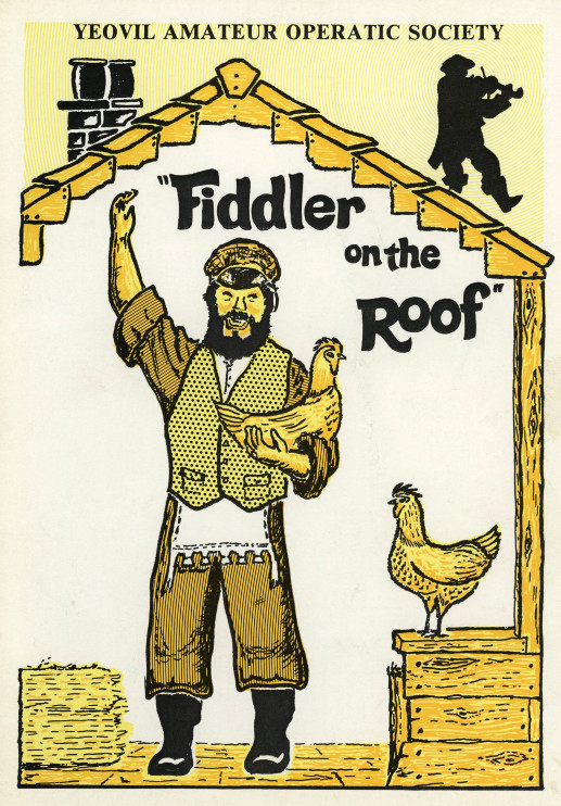 YAOS 1980 Production 'Fiddler on the Roof' - Programme Front Cover