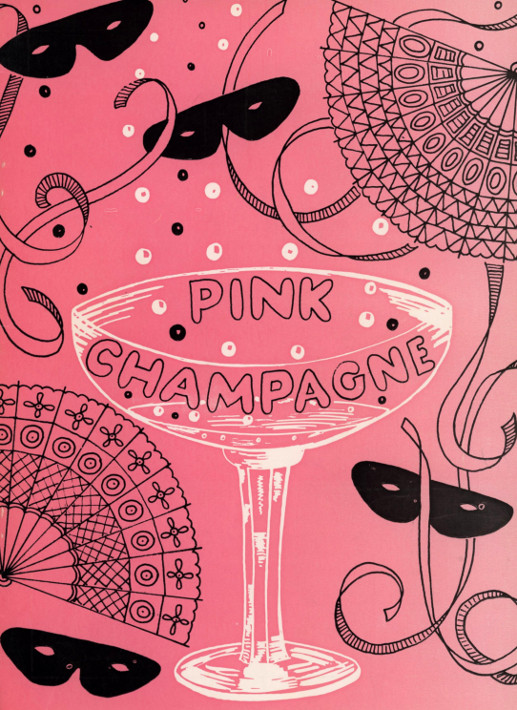 YAOS 1981 production of 'Pink Champagne' - Programme Front Cover