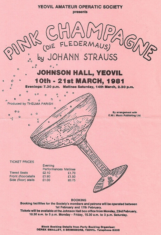 Poster for 'Pink Champagne' (1981)