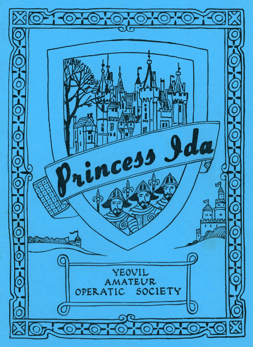 YAOS 1980 Production of 'Princess Ida' - Programme Front Cover