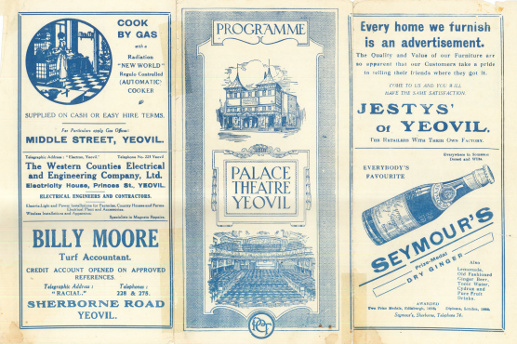 Palace Theatre Yeovil programme (2)