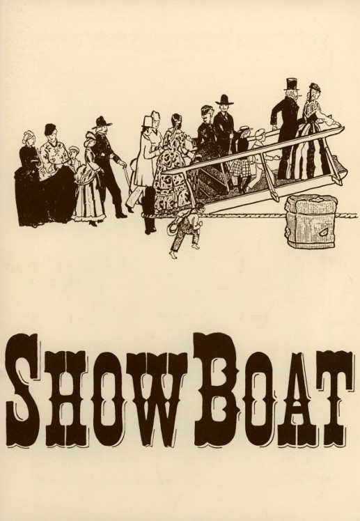 YAOS 1994 Production of 'Show Boat' - Programme Front Cover
