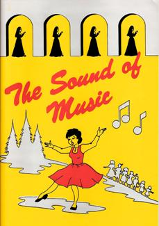 Programme Cover for The Sound of Music