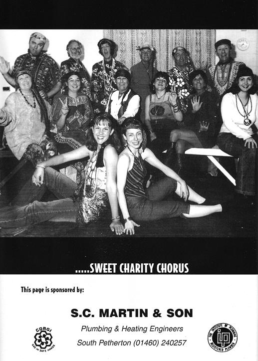 Sweet Charity Programme: Page 14